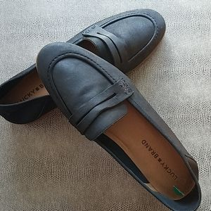 Lucky☘Brand 8M Black Loafers